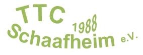 TTC Schaafheim Tischtennis